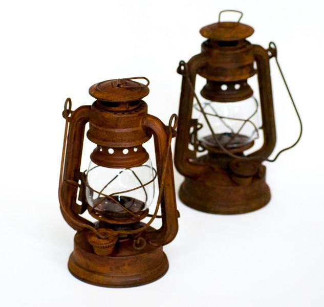 Rustic Mini Lanterns