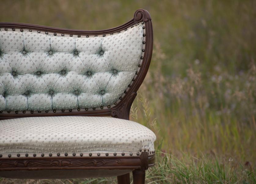 Victorian Corner Chair - Vintage Rentals
