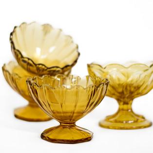 Amber Sorbet Cups