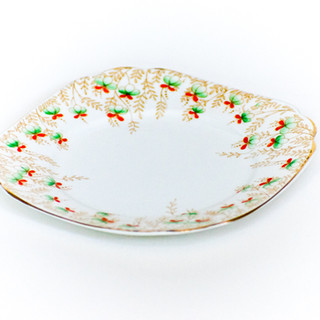 Mint and Orange Blossom Dainty Plate