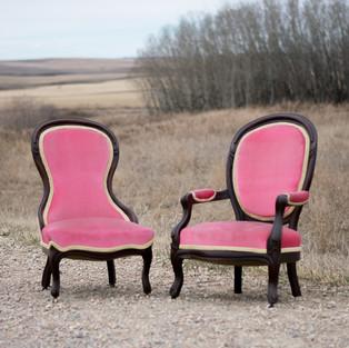 Rose Quartz Chairs