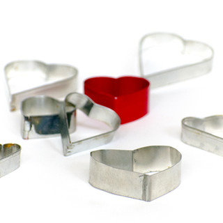 Antique Heart Cookie Cutters