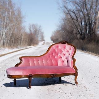 Rose Quartz Chaise