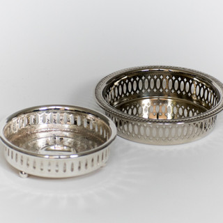 Silver Dainties Trays