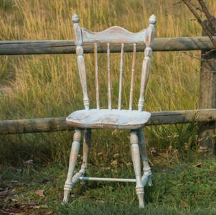 Robins Egg Farm Chair