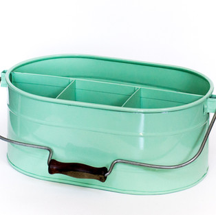 Mint Picnic Cutlery Holder