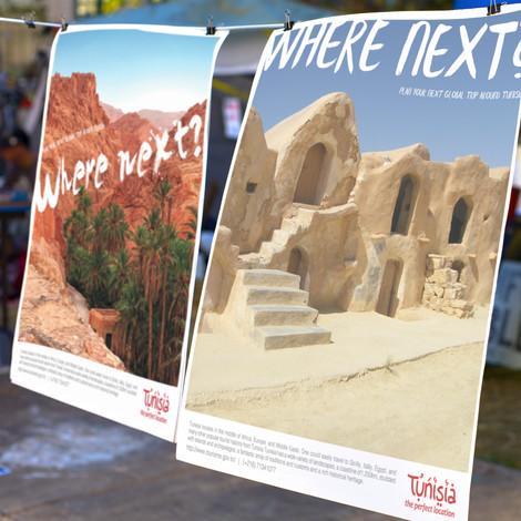 Tunisia Tourism Campaign, Posters