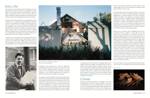 Frank Gehry, Magazine Design