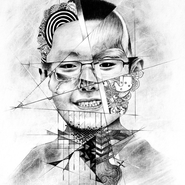 Disected Slef Portrait