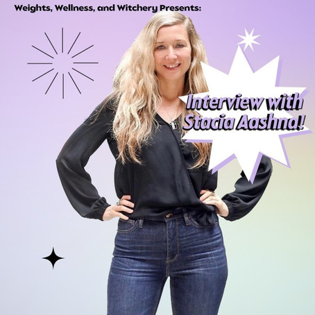 Interview with Weights, Wellness and Witchery