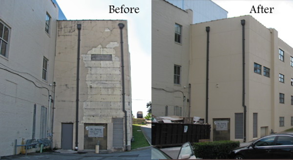 CONCRETE REPAIR, CONCRETE RESTORATION