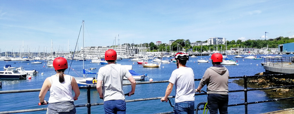 Scoot along the waterfront with style
