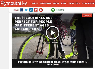 iScootbike footbike scooter bikes on Ply