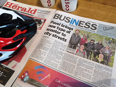 iscootbike footbike scooters in the news