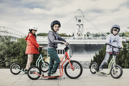 iScootbike kids scooters / footbikes in Plymouth UK