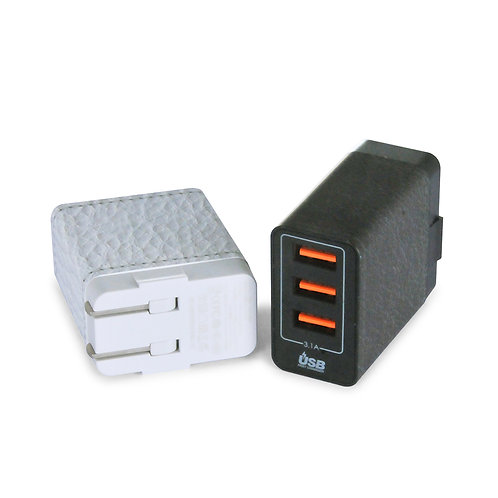 QC 3.0 3-Port USB Wall Charger