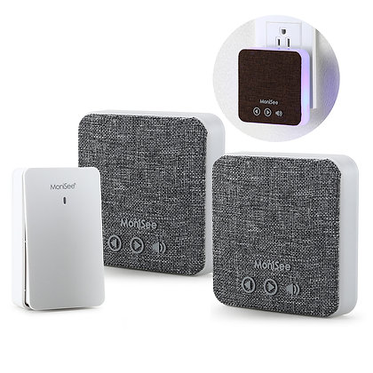LifeStyle Wireless Music Doorbell 3-Piece Kit, Self-Powered