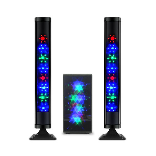 Bluetooth 2.1 Channel Grating Tower Speakers
