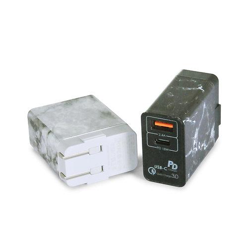 QC 3.0 2-Port USB Wall Charger