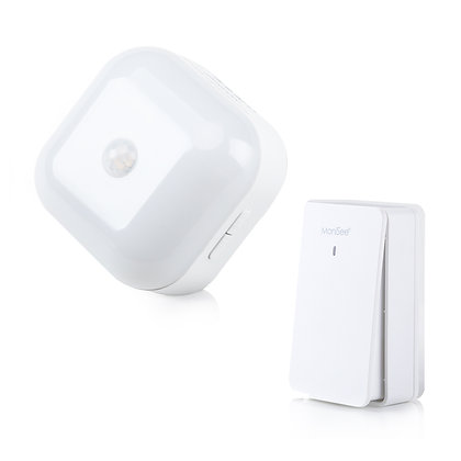 Wireless Music Doorbell with Motion Detection Night Lamp