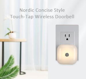 Nordic Consice Style Touch-Tap Wireless Doorbell