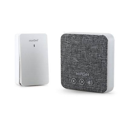 LifeStyle Wireless Music Doorbell Kit, Self-Powered