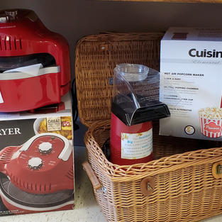 Air Fryer and Popcorn Maker