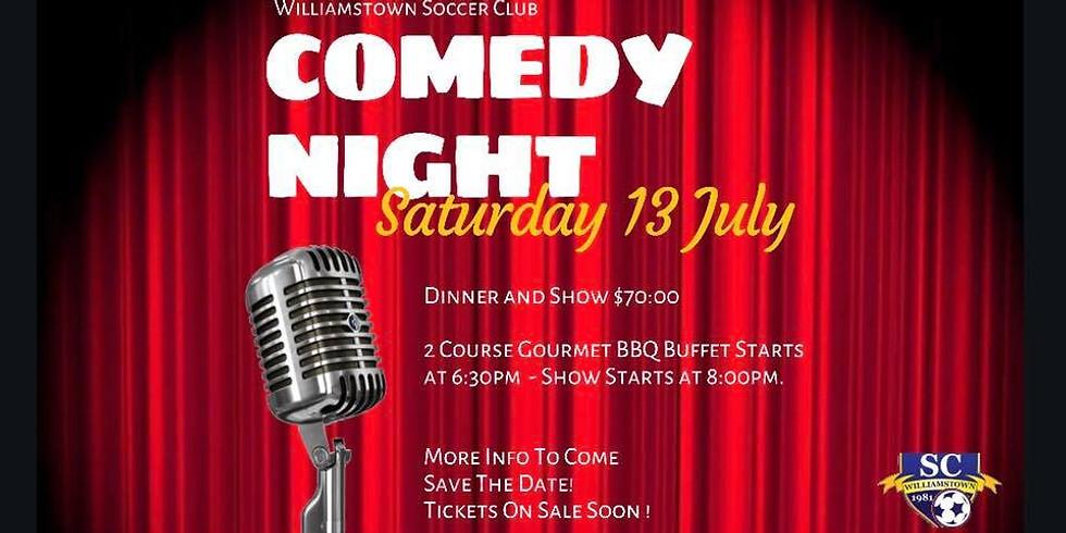 Williamstown SC 2019 Comedy Night