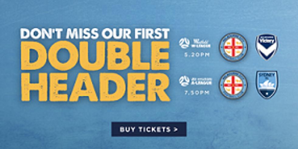 Melbourne City - Double Header