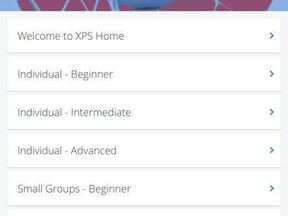 XPS Home App - Training Drills for home