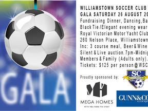 Williamstown Soccer Club Gala Night