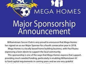 New Sponsorship Announcement!