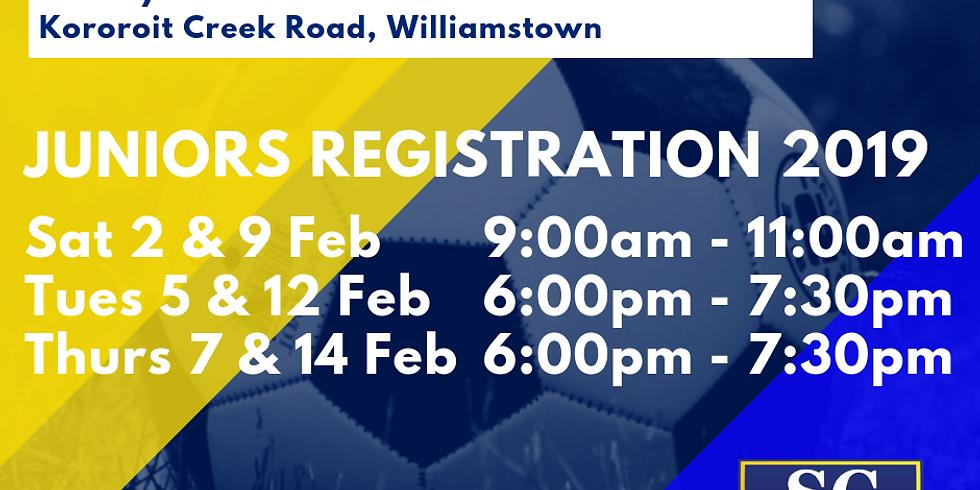 WSC 2019 Juniors Registration