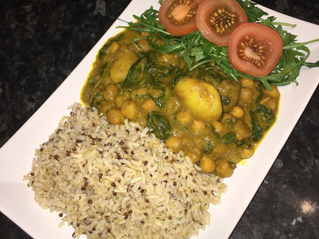 EASY-PEASY CHICKPEA CURRY