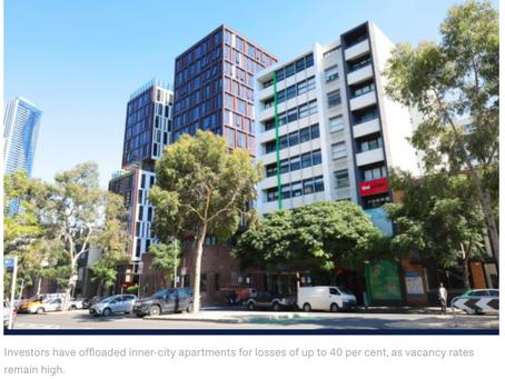 【墨尔本公寓抛售开始了吗?】损失居然高达40%?