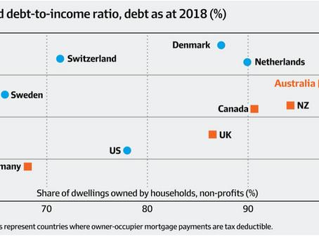 """【家庭""""债务""""与""""收入""""比例达200%】为什么不用担心澳洲房市崩盘?"""