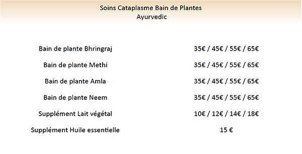 bain de plantes , soins au plantes lambe