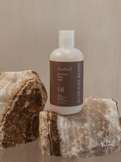 Frothed Foaming Body Wash