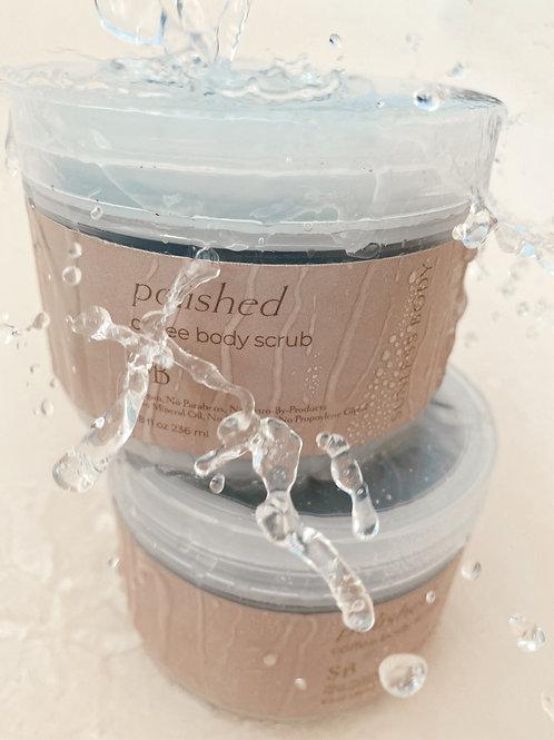 Polished Coffee Body Scrub