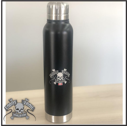 Cabot Trail Biker Insulated Stainless Steel Water Bottle