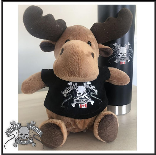 Personalized Cabot Trail Biker Moose