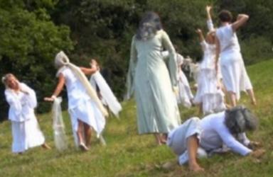 spectacle danse femmes, alchimie dansée, vif argent, alchimie, blanc