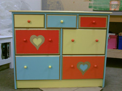 Commode aux Coeurs