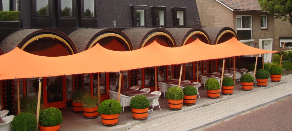 Tentart tenda izdelana po meri - bar in restavracija
