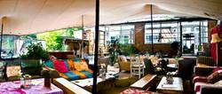 Tentart copertura per terrazzo-bar