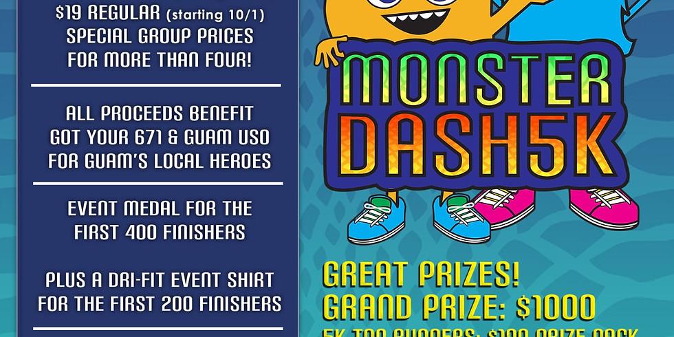Monster Dash VIRTUAL 5K & Scavenger Hunt