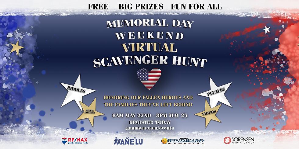 Memorial Day Virtual Scavenger Hunt