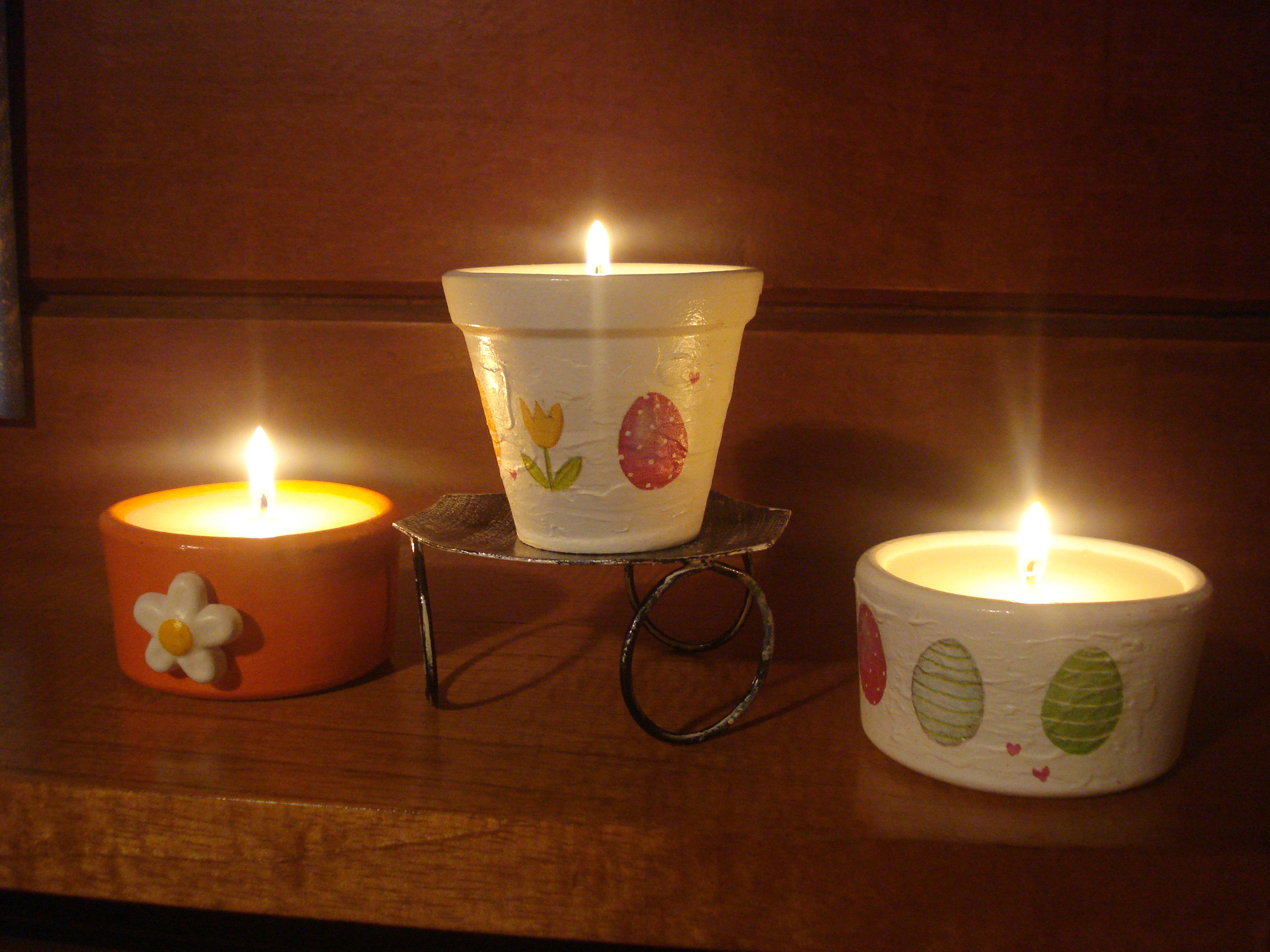 Velas Santa Clara - Potes Cerâmica