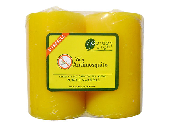 2 Velas Antimosquito com Citronela