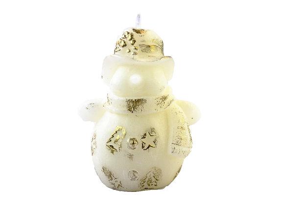 Vela Boneco de Neve